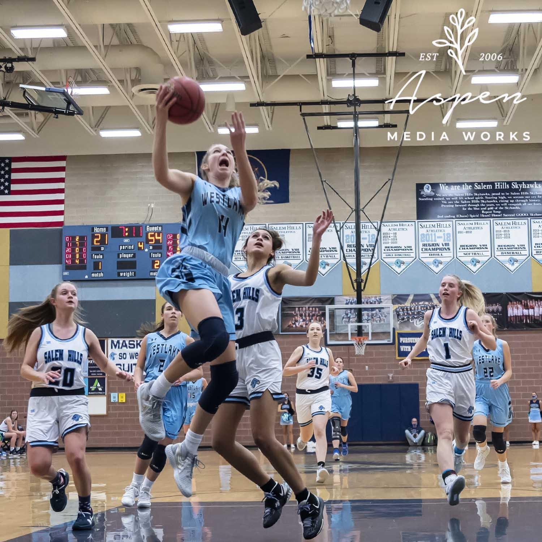 Girls basketball vs Salem Hills