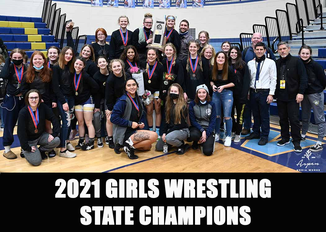 2021 6A State Champions Westlake Girls Wrestling