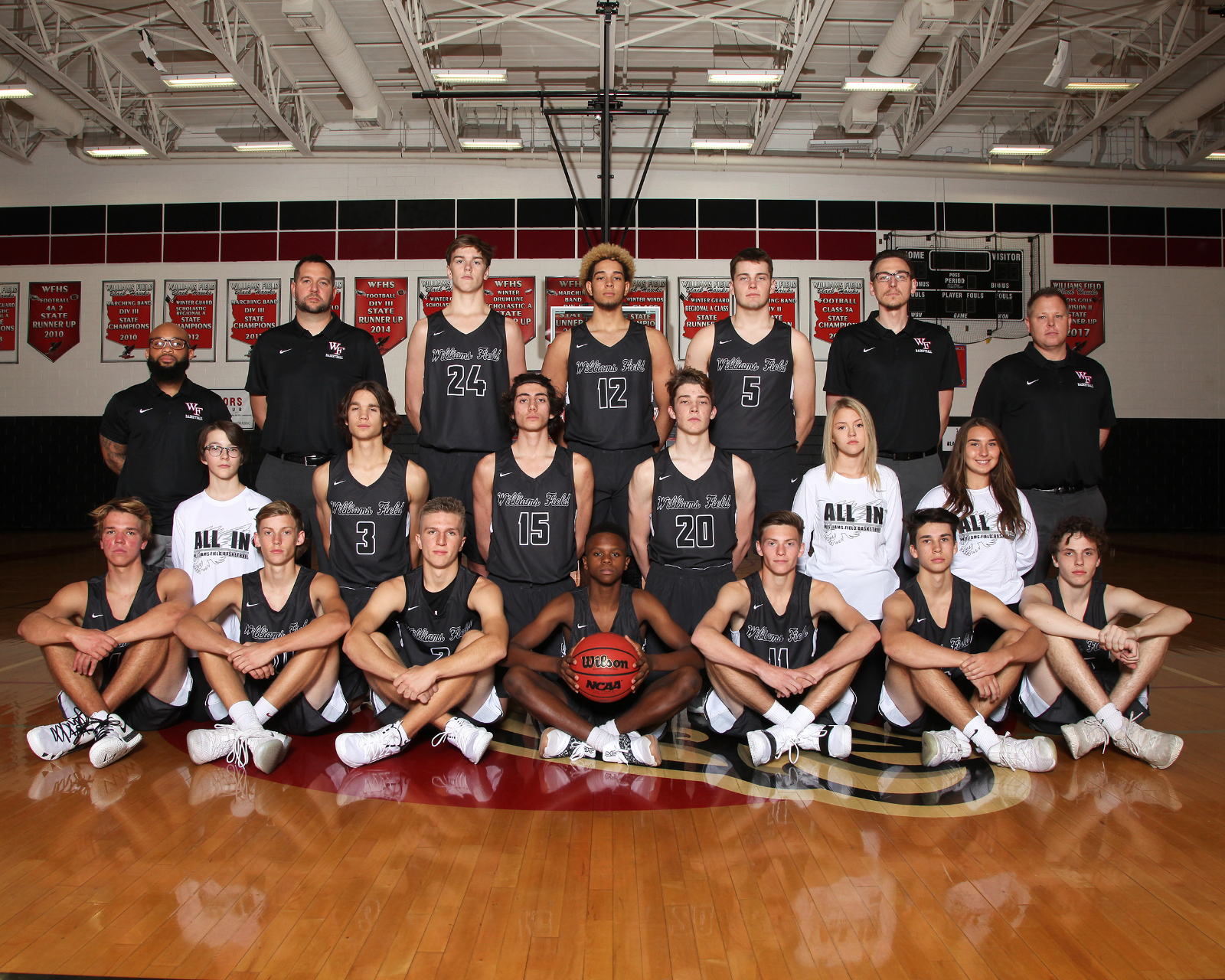Boys Basketball Advance in Championship! Varisty Boys Basketball vs. Gilbert 2/15 @ 7:00