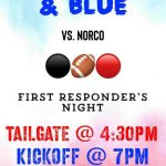 First Varsity Football Home Game & Tailgate is Friday 8/23!
