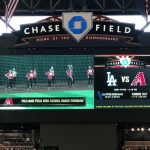 WFHS Dancers Perform at Chase Field