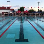 WFHS Swim Faces Off Against HHS