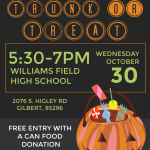 Trunk or Treat Will Be A Scary Good Time!