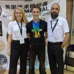 WFHS Junior Jovan Lombard Dominates in Martial Arts Championship
