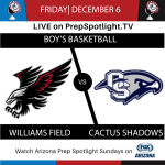 Boys Basketball Faces Cactus Shadow This Friday