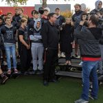 Black Hawks Rally Before Football State Championship Tomorrow