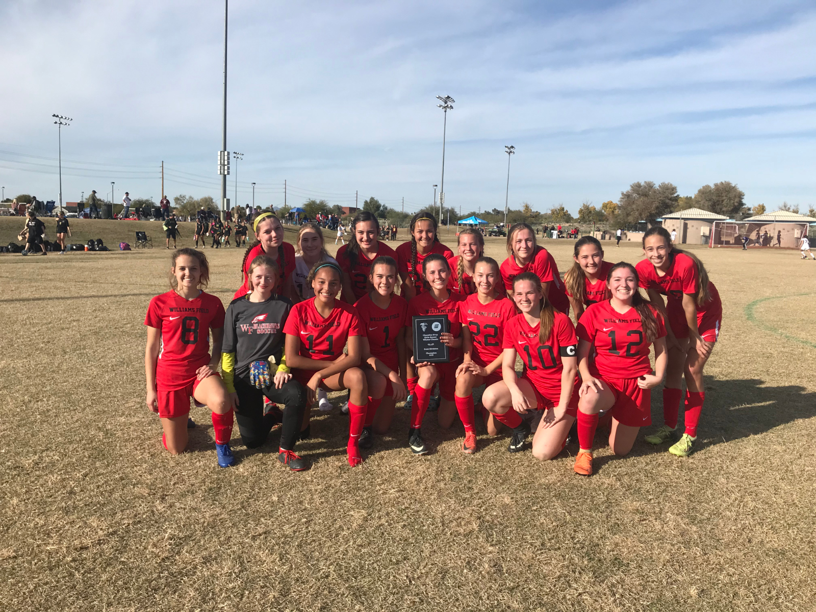 Girls Soccer Dominates the Chandler Prep Winter Classic