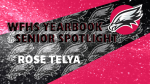 WFHS Aerial Yearbook Spotlight: Rose Telya