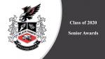 2020 Senior Awards Ceremony Video
