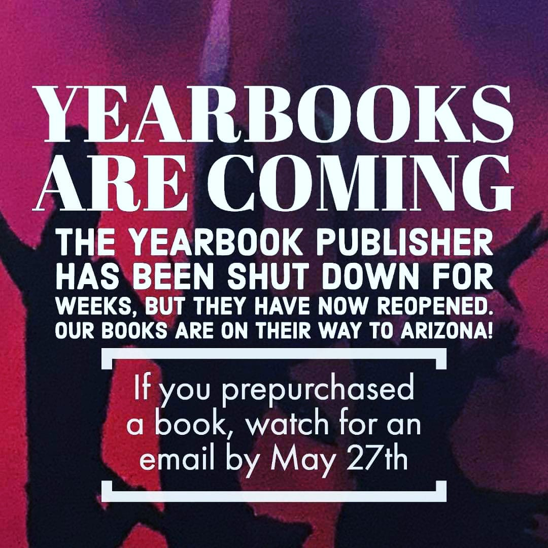 Yearbooks Are Coming!!!!!