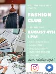 Fashion Club First Meeting Is Coming In August