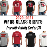 WFHS Class Shirts on Sale!