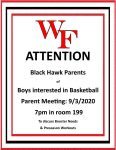 Boys Basketball Parent Meeting