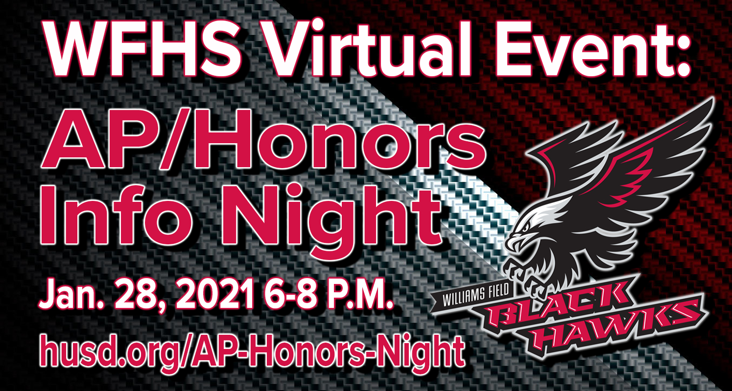 WFHS AP/Honors Info Virtual Event