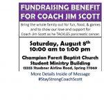 Coach Scott Fundraiser