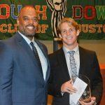 Congrats to Bryson Powers, winner of the 2016 Houston Touchdown Club Scholar-Athlete Award