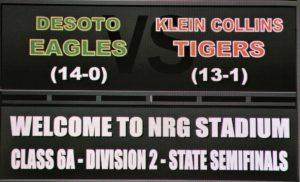 State Semi Finals vs. Desoto Game 2016