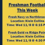 Freshman Games This Week