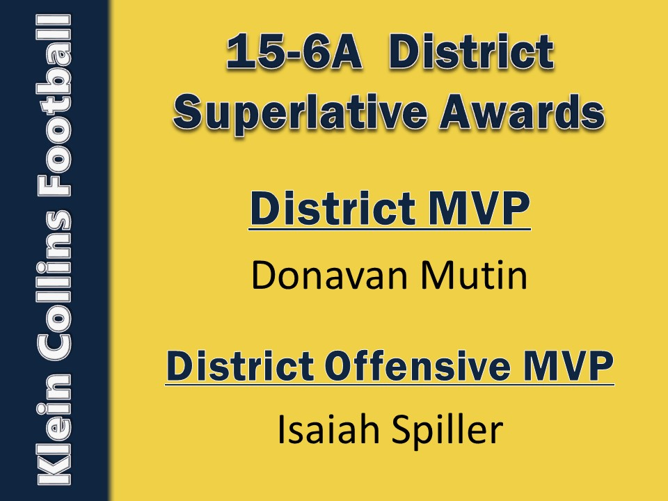 15-6A District Superlatives