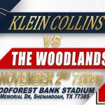 TICKETS ON SALE: Week 10 KCHS vs Woodlands