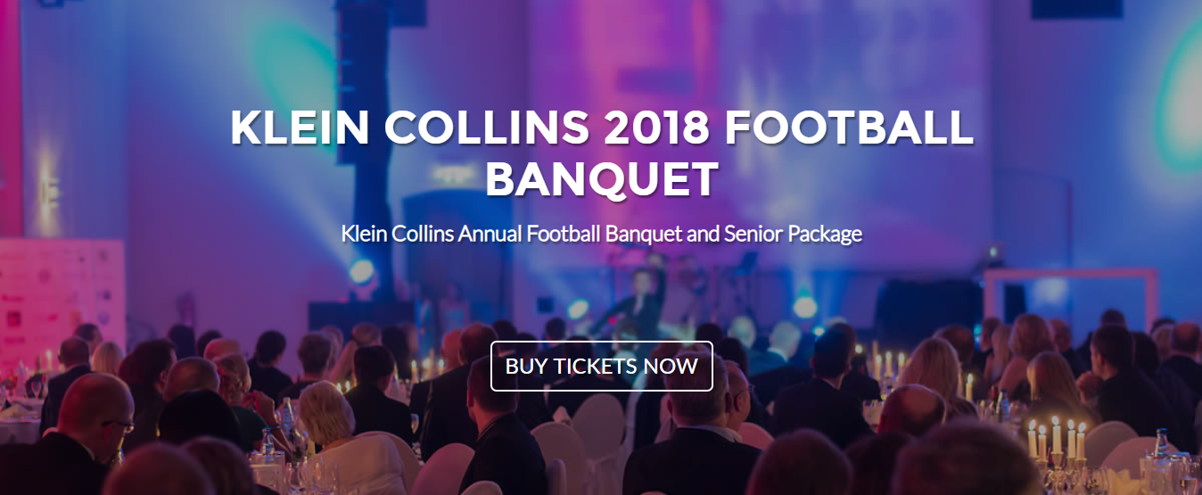 2018 Football Banquet – Purchase Tickets Here