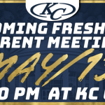Incoming Freshman Parent Meeting – May 15