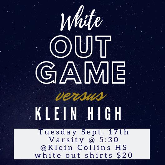 White Out Game vs. Klein High