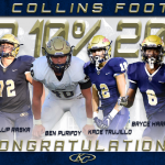 Congratulations! KC Football Class of '20 Top 10%