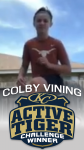 WEEK 1 WINNER: COLBY VINING