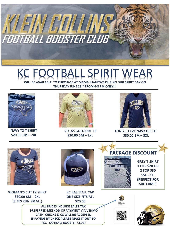 KC Football Spirit Wear – Mama Juanita's
