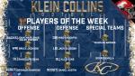 Week 2: Players of the Week