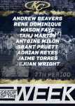 OFF-SEASON: 7th PERIOD GROUP OF THE WEEK