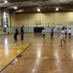 Middle School Girls Warriors Basketball Team getting Better with time.