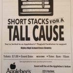 AppleBees Pancake Breakfast Cross Country Fundraiser!