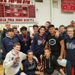 Boys Varsity Wrestling finishes 3rd place at Big Red Invitational