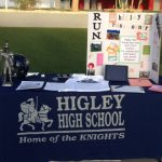 Higley Sports makes an appearance at the Academic Blitz!
