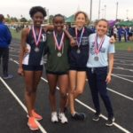Girls Varsity Track finishes 9th place at Husky Invite