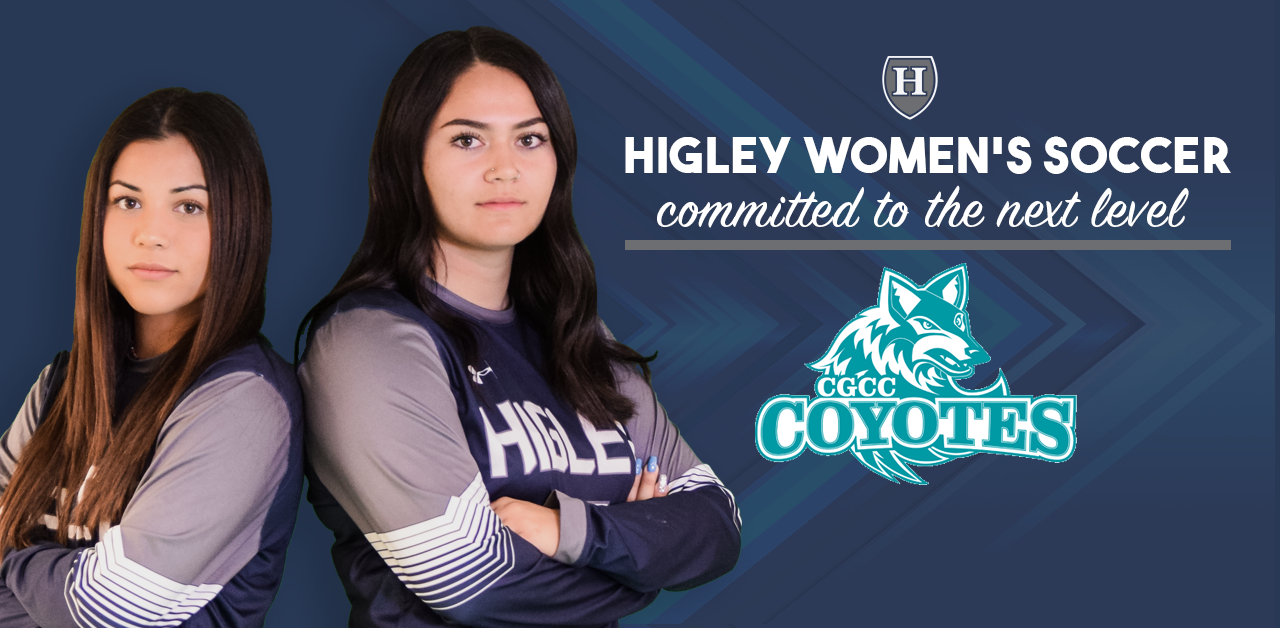 Higley Women's Soccer Players Commit to Play College Soccer