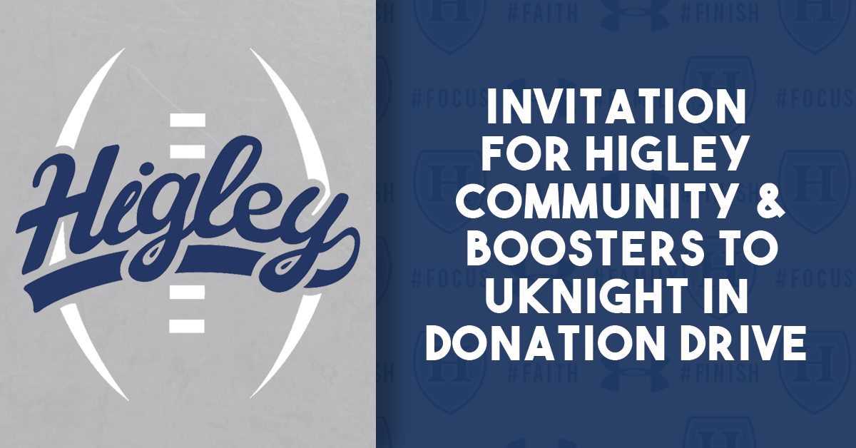 Invitation to uKnight for a Donation Drive