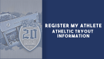 Athletic Tryout Information Graphic