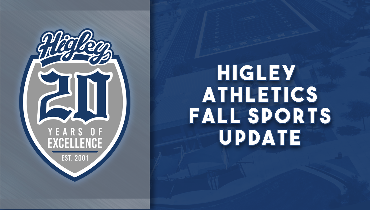 Higley Athletics 2020 Fall Sports Update