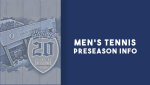 Graphic for Men's Tennis Update