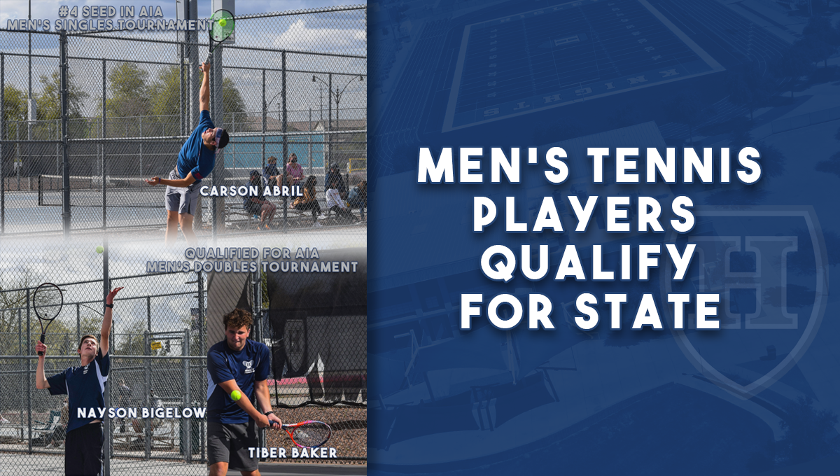 Men's Tennis Players Qualify for State