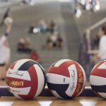 Girls Volleyball Tryouts and Practice