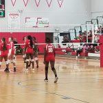 Girls JV Volleyball vs Evans