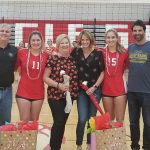 Varsity Volleyball Battle Tough Against Boone: Senior Night