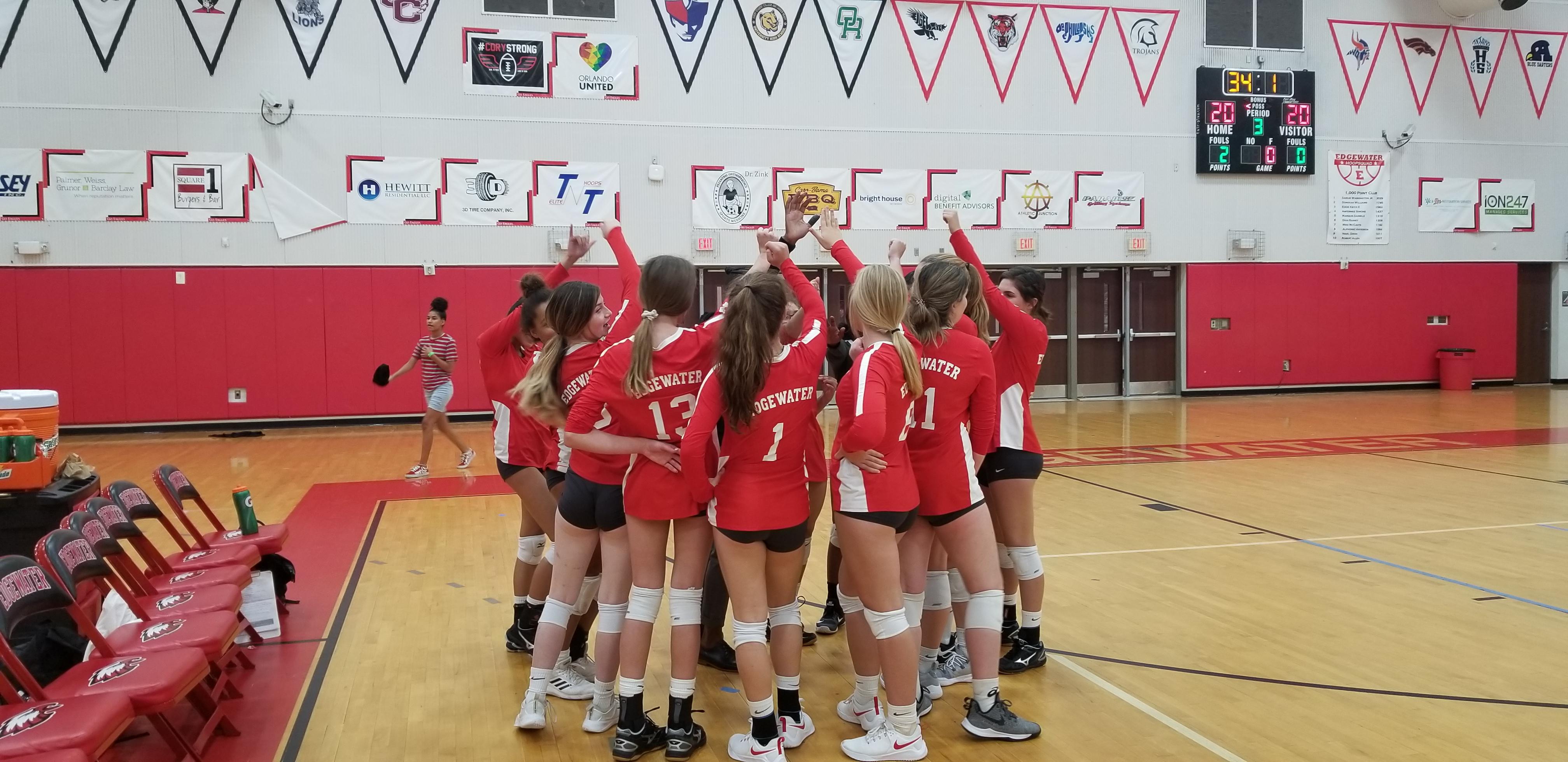 Girls Volleyball Defeats Wekiva in District Quarterfinals