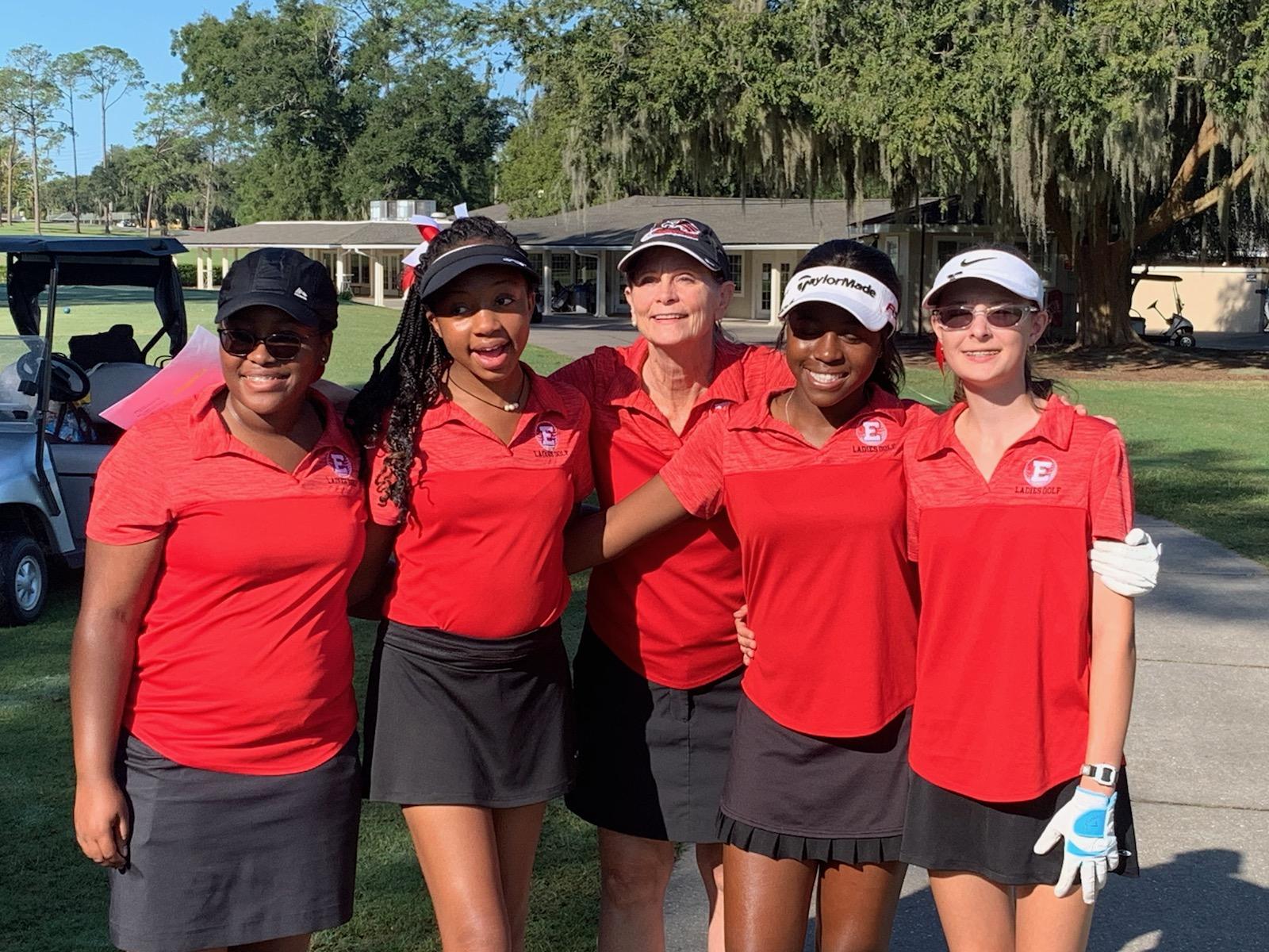 Girls Golf Swings Solid in District Play, Alexa Harris Qualifies for Region