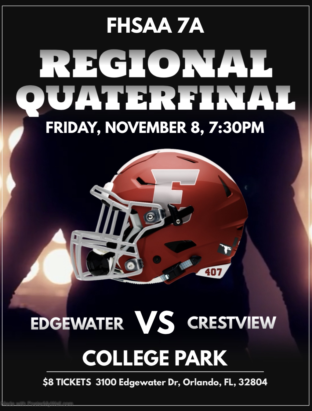 Football Playoffs RQ: Edgewater vs Crestview