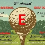 2nd Annual Baseball Golf Tournament